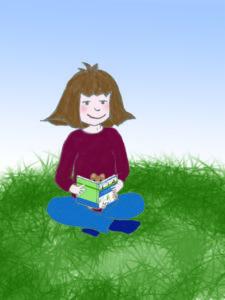 Lina und Teddy lesen